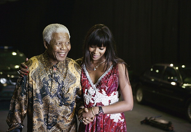 Nelson Mandela and Naomi Campbell (Photo: Getty Images)