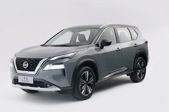 2022 Nissan X-Trail at the Shanghai Auto Show