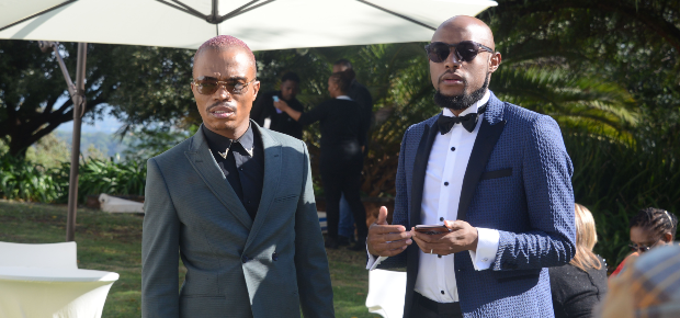 Flowers imported from four countries - Somizi and Mohale are sparing no expense on their second wedding - Channel 24