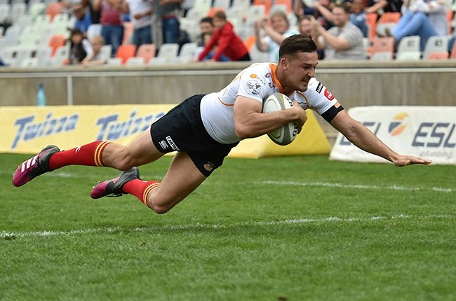 Lloyd Greeff in action for the Cheetahs. (Gallo Images)