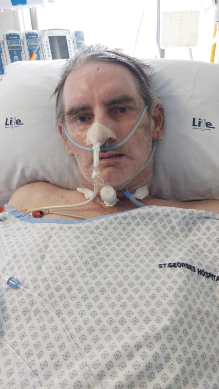 Chris was vir byna 180 dae in die hospitaal. Foto:
