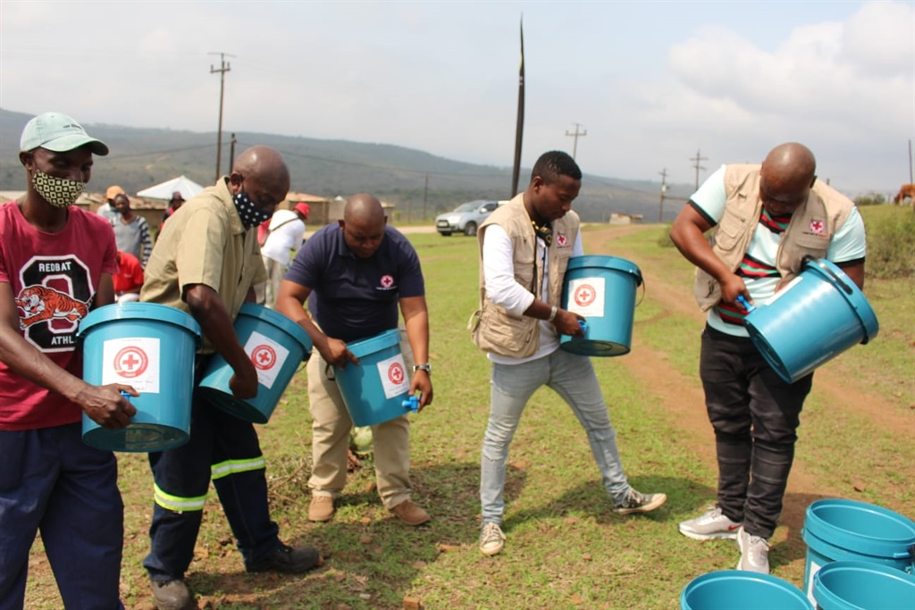 SA Red Cross supplying water to communities in need .