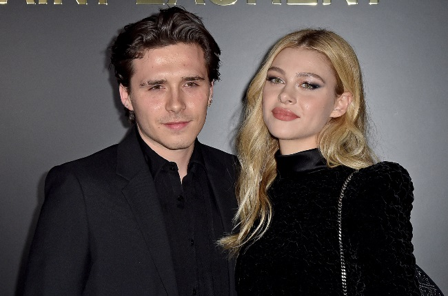 Brooklyn Beckham and Nicola Peltz's families joined forces to support David's football team as they played against his former club LA Galaxy at the DRV PNK Stadium in Florida ealier this week. (CREDIT: Gallo Images / Getty Images)
