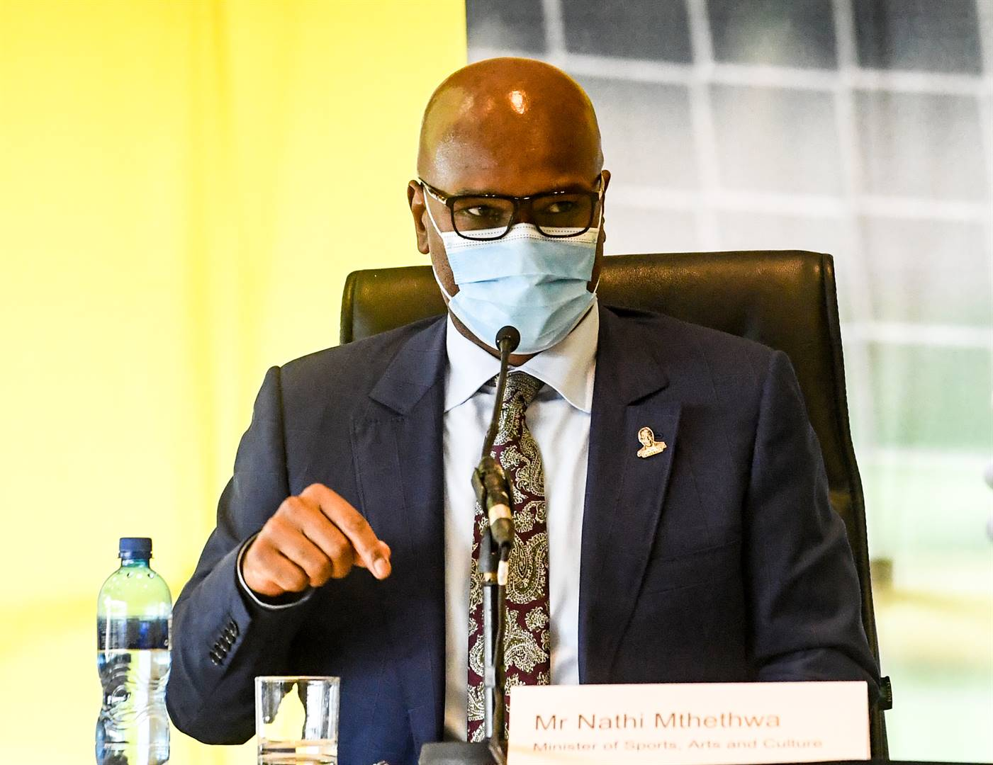 """On Thursday night, Sport, Arts and Culture Minister Nathi Mthethwa stepped into the fray. He """"de-recognised"""" the CSA and stopped its – meagre – funding. Picture: Gallo Images"""