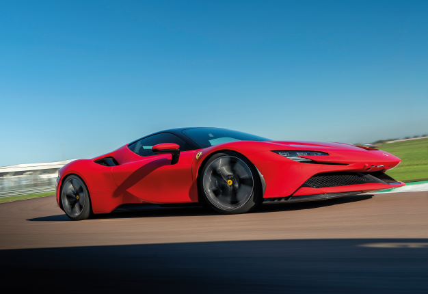 Ferrari SF90 Stradale. Image: Newspress