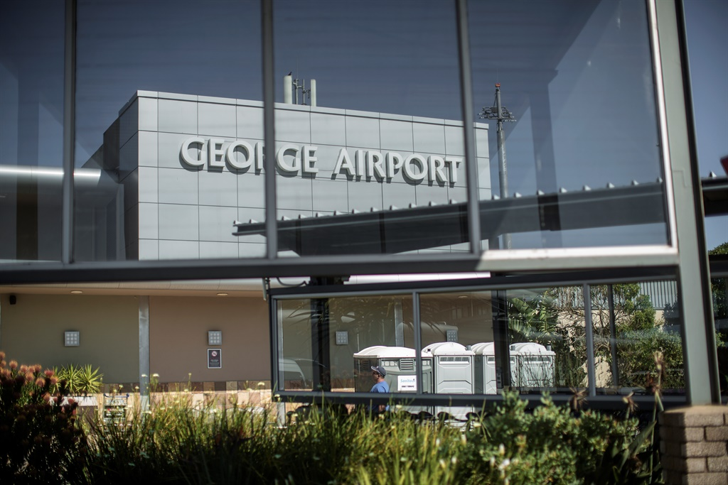 The arrival terminal at the George airport. (Gianluigi Guercia, AFP)