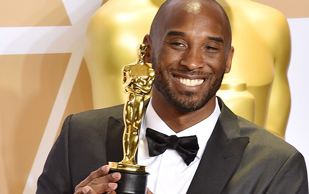 Kobe Bryant attends the 90th Annual Academy Awards. (Getty Images)