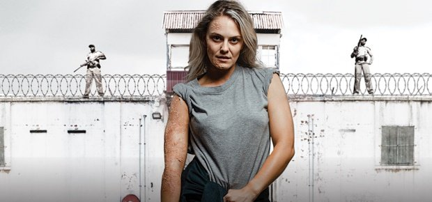 Lauren Jenae as 'Vicky' on local drama 'Lockdown' (Photo: Supplied by Showmax)