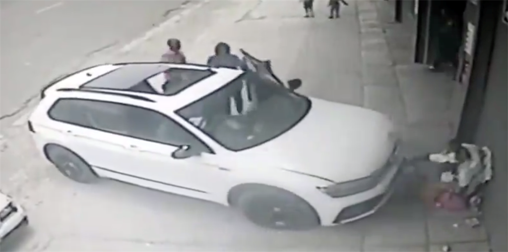 WATCH | Gogo and baby mowed down in hit-and-run incident - News24