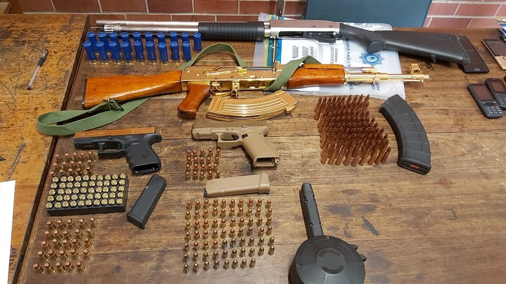SEE | Notorious Durban drug kingpin found with gold-plated AK-47 - News24