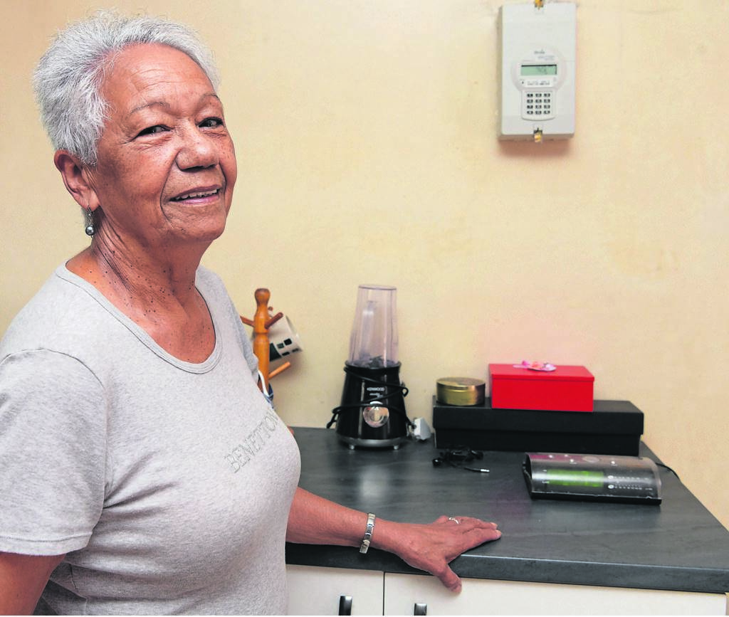 Cynthia Bernickow is one of the residents who has already switched to a prepaid meter.