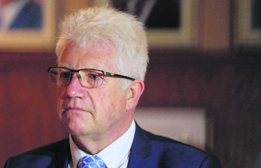 Premier Alan Winde will deliver the state of the province address in Mitchell's Plain next month. PHOTO: Samantha Lee-Jacobs