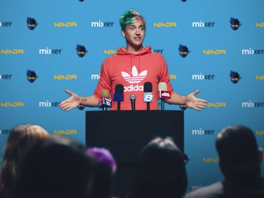 Ninja reportedly got paid between R290 million and R430 million by Microsoft to leave Amazon's Twitch streaming service - Business Insider South Afric