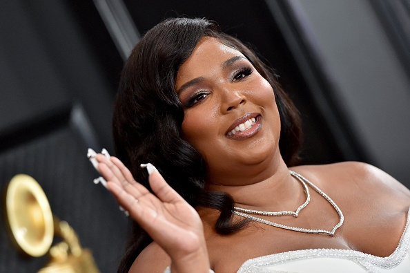 Lizzo at the 62nd Annual GRAMMY Awards. Photographed by Axelle/Bauer-Griffin