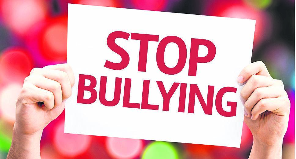 photo: sourced The community must stand against bullying at schools.