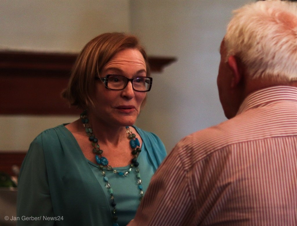Helen Zille, speaking at the Cape Town Press Club, says DA will never put UDM's Bobani in power in NMB ever again (Photo: Jan Gerber, News24)