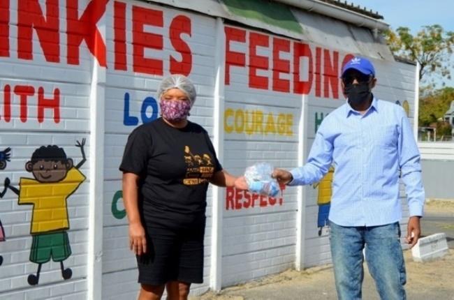 Jozeen who started Tinkies feeding scheme. (Photo: Supplied)