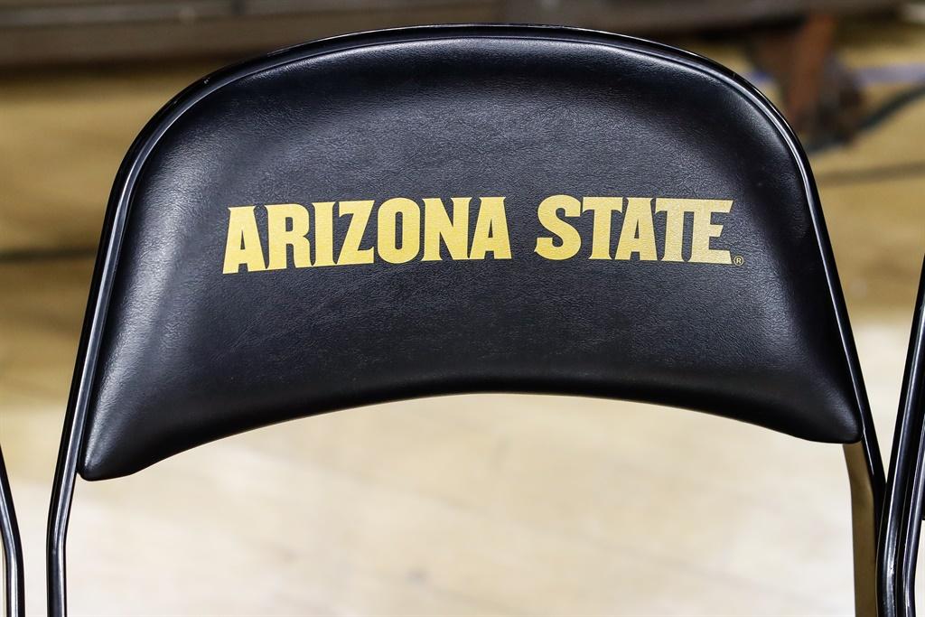 TEMPE, AZ - JANUARY 25:  Arizona State on a chair