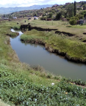 The river where 8 year old Musa Mbele tragically drowned (PHOTO: Supplied)