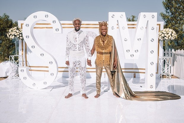 First Look Somizi And Mohale S Wedding Special To Air On Showmax Channel