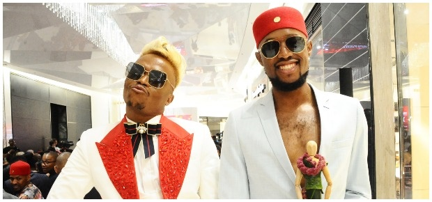 Somizi and Mohale. (Photo:Getty Images/Gallo Images)