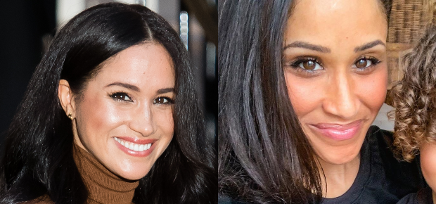 Akeisha Land is often stopped by strangers who've mistaken her for Meghan Markle (Photo: Getty/Gallo Images & Akeisha Land/Instagram)