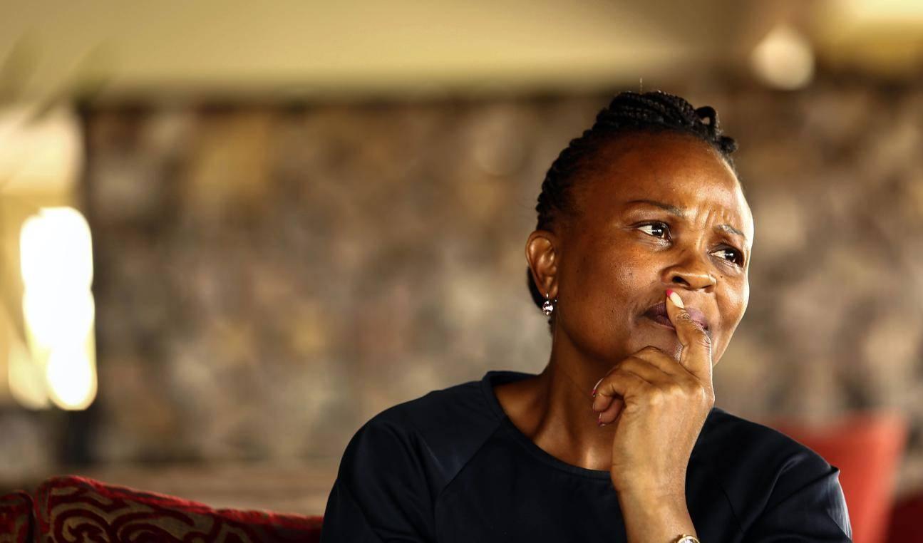Mkhwebane files urgent court bid to interdict Parliament's attempt to 'remove and dethrone' her