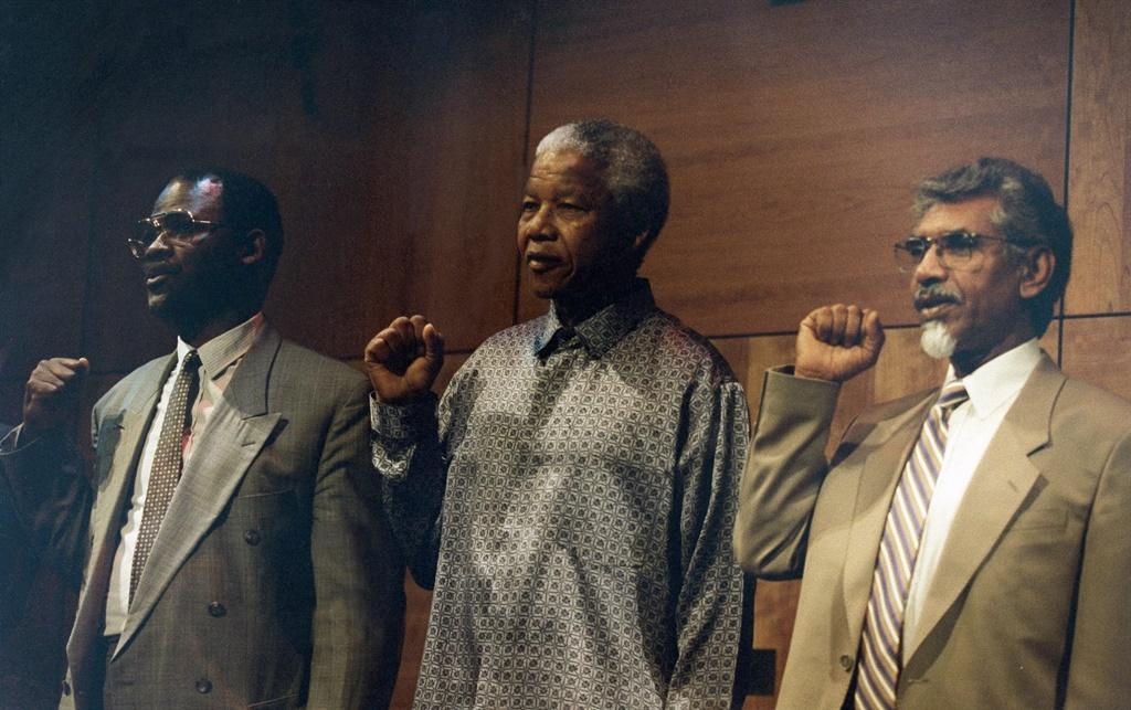 SOUTH AFRICA - February 1995: President Nelson Man