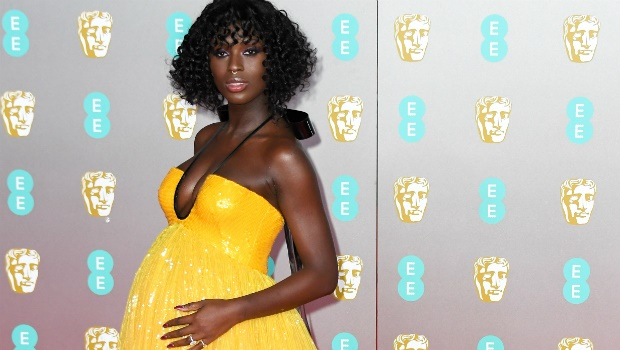 Jodie Turner-Smith attends the EE British Academy Film Awards 2020 at Royal Albert Hall. Photo by Stephane Cardinale - Corbis/Corbis