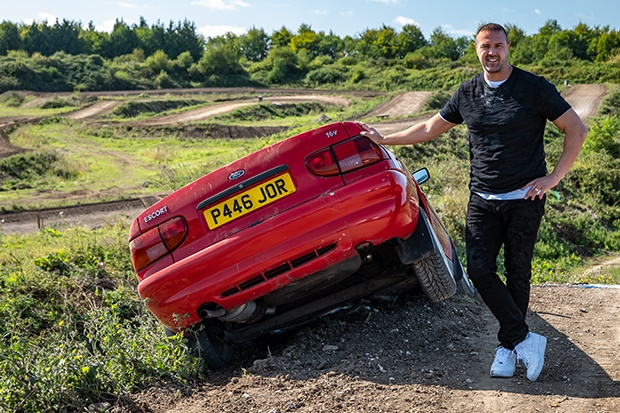 Paddy McGuinness in Top Gear. (Photo: BBC)