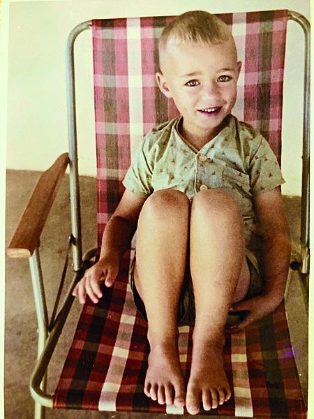 Nataniël in sy kinderjare. Foto verskaf