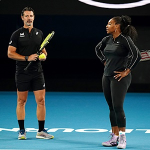 Serena's coach makes statement: 'Tennis can't live only off its elites'