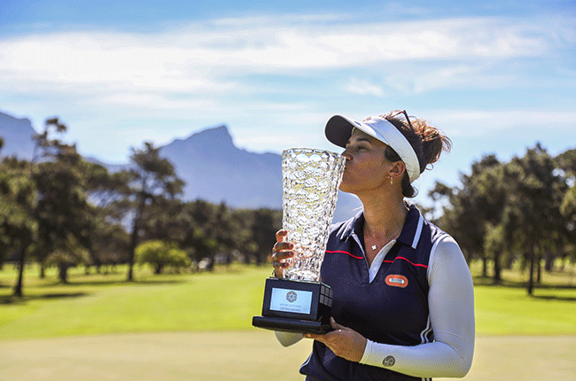 French golfer Manon Gidali's maiden professional victory in the season-opening Cape Town Ladies Open (Sunshine Ladies Tour)