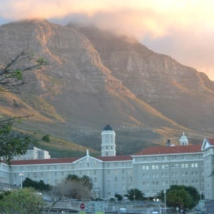 Groote Schuur Hospital,. Cape Town