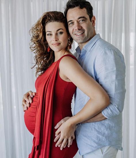 rolene strauss,swanger