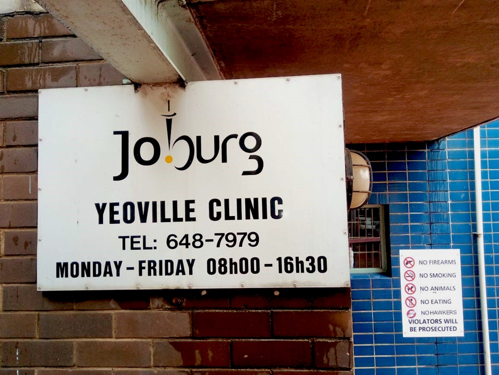 Crucial patient information was lost when 11 computers were stolen from the Yeoville Clinic in a robbery days before Christmas. (Gaby Ndongo, GroundUp)