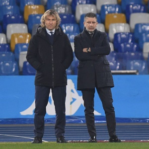 Pavel Nedved and Fabio Paratici (Getty Images)