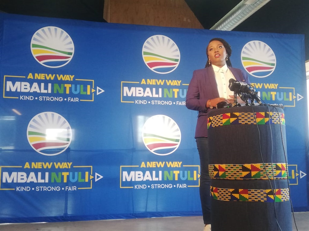 Mbali Ntuli launches her DA leadership candidacy for May 2020.