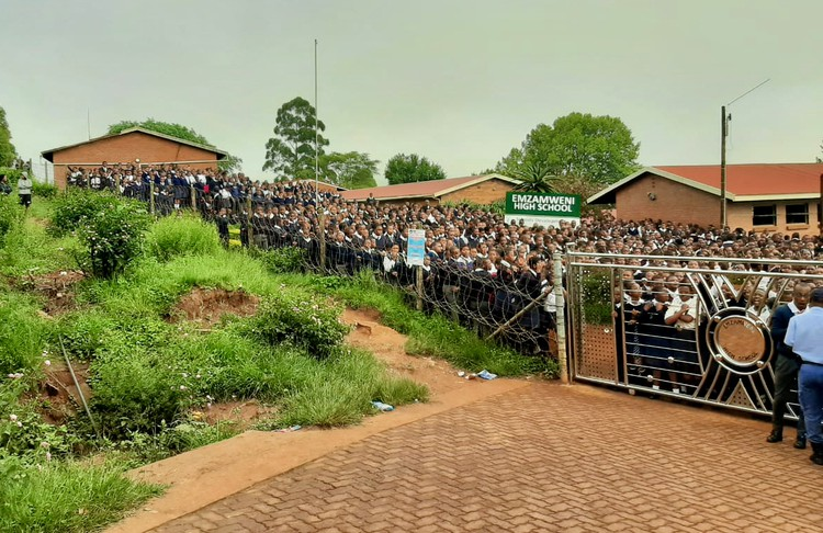 Last week, learners locked all the teachers out of Emzameni High School in KwaMnyandu, Pietermaritzburg.