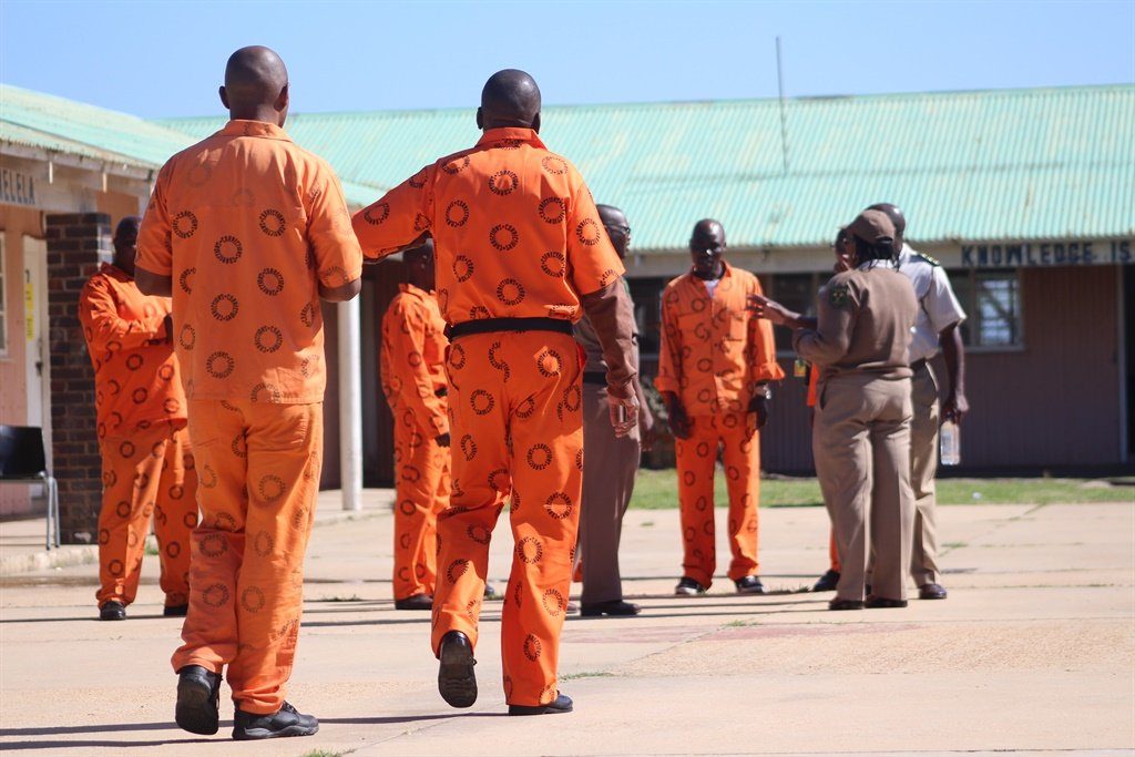 Behind bars ... A gay inmate has taken Correctional Services officials to court over his educational rights.