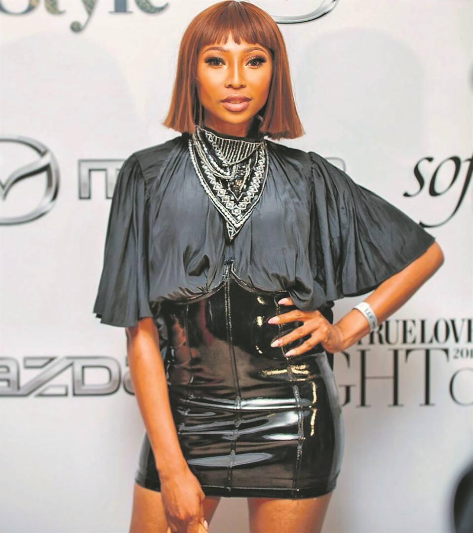 Enhle Mbali Mlotshwa lands a new TV role. Picture: Supplied/ Instagram