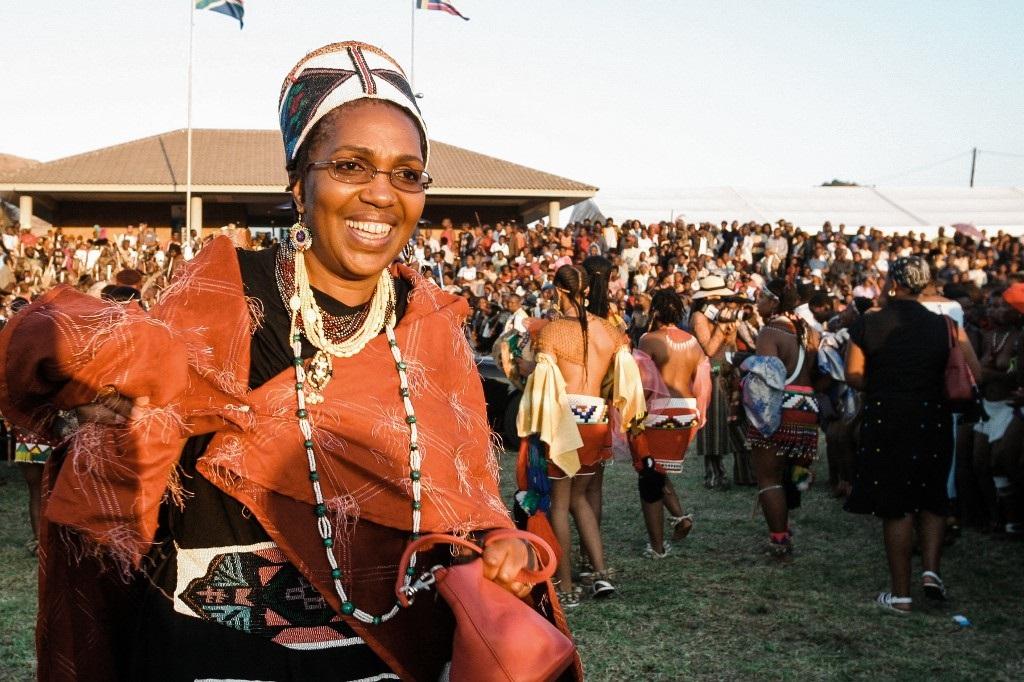 Queen Shiyiwe Mantfombi Dlamini Zulu