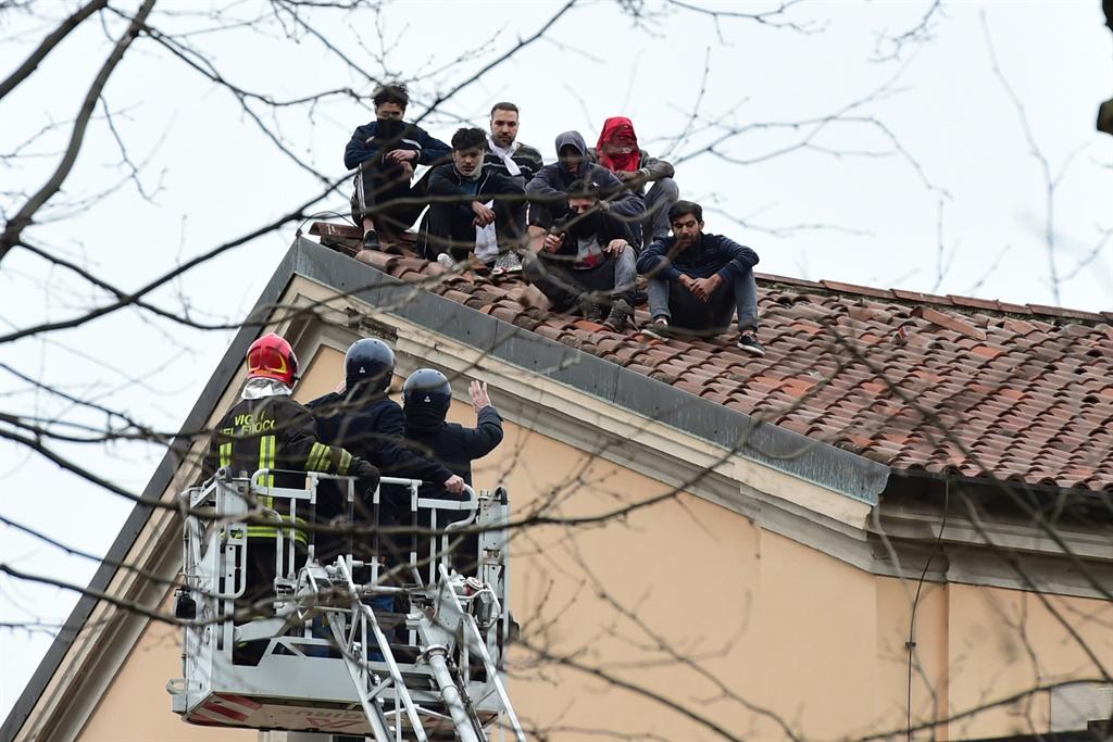 Italy, Coronavirus, San Vittore prison