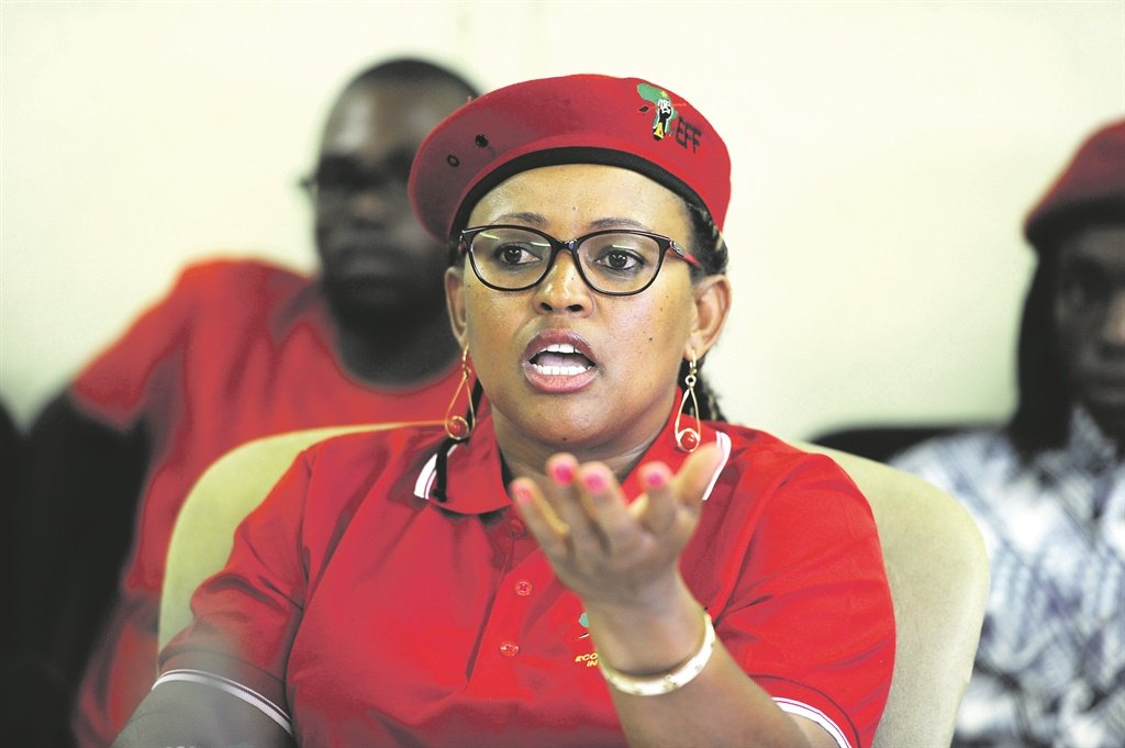 EFF hasn't seen a resignation letter from Mandisa Mashego, only a sick note - News24