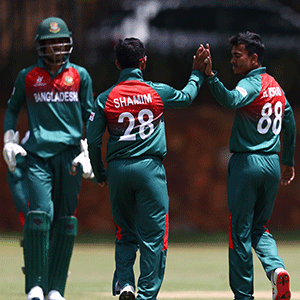 Bangladesh down India to reign as U19 CWC champions - Sport24