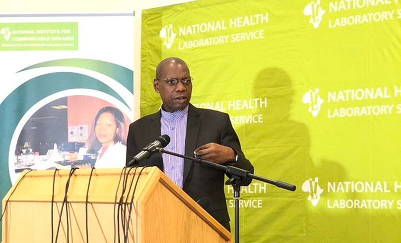 Health Minister Zweli Mkhize at the launch of mobile testing and screening units on Wednesday.