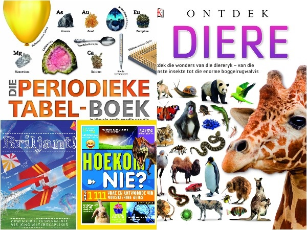 Feiteboeke vir nuuskierige kinders