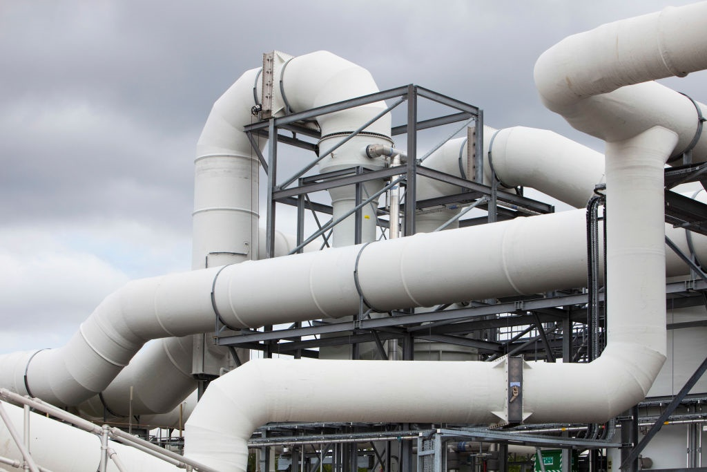 The odour supressant plant at Daveyhulme wastewate