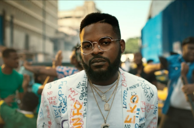 """Nigerian singer Folarin """"Falz"""" Falana says South African artists authenticity were the inspiration behind his visit."""