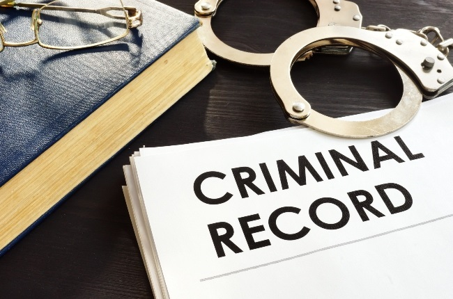 You can apply for an expungement of a criminal record to remove it from the criminal database, Nthabi says.